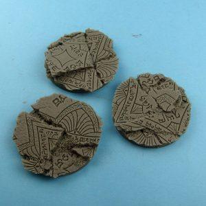 Micro Art Studio   Shrine Bases Shrine Bases, Round 50mm (2) - B01231 - 5900232359905