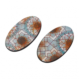 Micro Art Studio   Mosaic Bases Mosaic Bases, Oval 90mm (2) - B01190 - 5907652561055