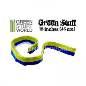 Green Stuff World   Modelling Putty & Green Stuff Green Stuff Tape 18 inches - 8436554365012ES - 8436554365012