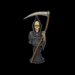 Micro Art Studio   Discworld Miniatures Discworld Death Bust UNPAINTED (1) - D24005 - 5900232355310