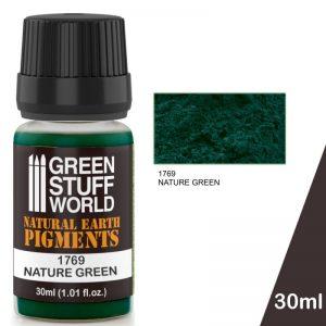 Green Stuff World   Powder Pigments Pigment NATURE GREEN - 8436574501285ES - 8436574501285
