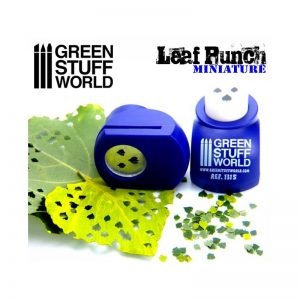Green Stuff World   Stamps & Punches Miniature Leaf Punch DARK PURPLE - 8436554363155ES - 8436554363155