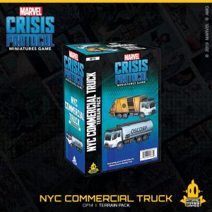 Atomic Mass Marvel Crisis Protocol  Marvel: Crisis Protocol Marvel Crisis Protocol: NYC Commercial Truck Terrain Pack - CP14 - 841333108649