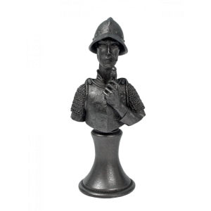 Micro Art Studio   Discworld Miniatures Discworld Vimes Bust METALLIZED (1) - D44003 - 5900232353217