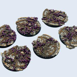 Micro Art Studio   Dark Temple Bases Dark Temple Bases, Round 40mm (2) - B02222 - 5900232357390