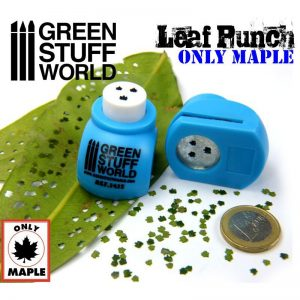 Green Stuff World   Stamps & Punches Miniature Leaf Punch MEDIUM BLUE - 8436554364152ES - 8436554364152