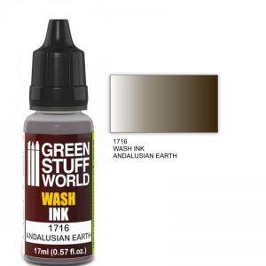 Green Stuff World   Wash Ink Wash Ink ANDALUSIAN EARTH - 8436574500752ES - 8436574500752