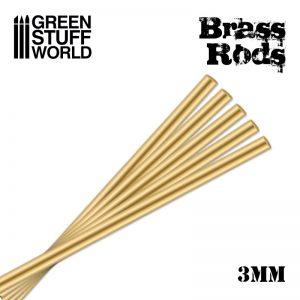 Green Stuff World   Brass Rods Pinning Brass Rods 3mm - 8436554368334ES - 8436554368334