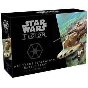 Fantasy Flight Games Star Wars: Legion  Separatist Alliance - Legion Star Wars Legion: AAT Trade Federation Battle Tank - FFGSWL64 - 841333110062