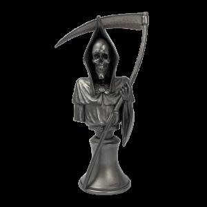 Micro Art Studio   Discworld Miniatures Discworld Death Bust METALLIZED (1) - D44005 - 5900232355280