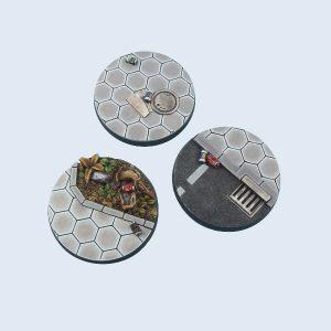 Micro Art Studio   Urban Bases Urban Bases, Round 50mm (2) - B03231 - 5900232360246