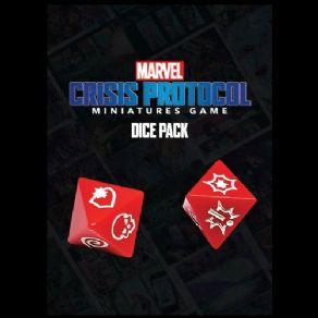 Atomic Mass Marvel Crisis Protocol  Marvel: Crisis Protocol Marvel Crisis Protocol: Dice Pack - CP02 - 841333108687
