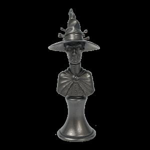 Micro Art Studio   Discworld Miniatures Discworld Esme Weatherwax Bust METALLIZED (1) - D44004 - 5900232353224