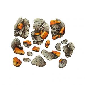 Micro Art Studio   Basing Kits TauCeti - Basing Kit (16) - B04201 - 5907652560492