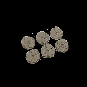 Micro Art Studio   Ruins Bases Ruins Bases, Flying 30mm (3) - B00127 - 5905133597814