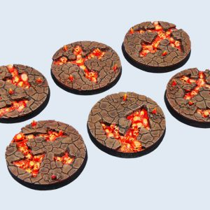 Micro Art Studio   Chaos Waste Bases Chaos Waste Bases, Round 40mm (2) - B03622 - 5900232357376