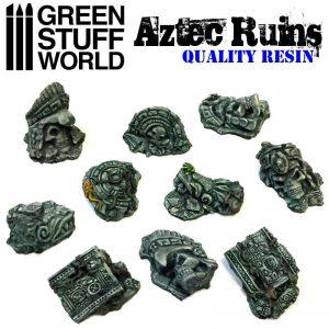 Green Stuff World   Green Stuff World Conversion Parts Aztec Ruins - 8436554364923ES - 8436554364923