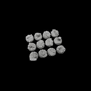 Micro Art Studio   Halodynes Bases Halodyne Bases, Round 25mm (5) - B04521 - 5900232358267