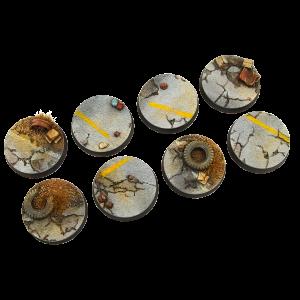 Micro Art Studio   Highway Bases Highway Bases, 32mm Round (4) - B04820 - 5900232353330