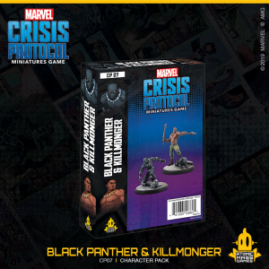 Atomic Mass Marvel Crisis Protocol  Marvel: Crisis Protocol Marvel Crisis Protocol: Black Panther & Killmonger - CP07 - 841333108625