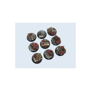 Micro Art Studio   Triad Bases Triad Bases, 30mm WRound (5) - B04741 - 5900232351527