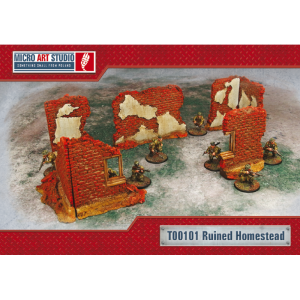 Micro Art Studio   Micro Art Studios Terrain Ruined Homestead - T00101 - 5900232355464