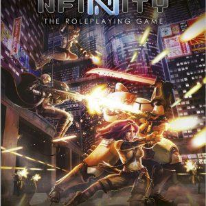 Modiphius Infinity RPG  Infinity RPG Infinity RPG Core Book - MUH050206 - 9781910132210