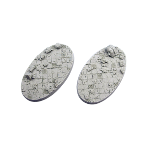 Micro Art Studio   Ancient Bases Ancient Bases, Oval 90mm (2) - B03190 - 5900232355914