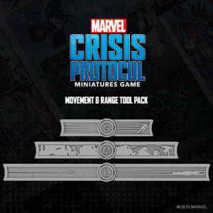 Atomic Mass Marvel Crisis Protocol  Marvel: Crisis Protocol Marvel Crisis Protocol: Measurement Tools - CP03 - 841333108694