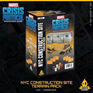 Atomic Mass Marvel Crisis Protocol  Marvel: Crisis Protocol Marvel Crisis Protocol: NYC Construction Site Terrain Expansion - CP31 - 841333108854