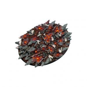 Micro Art Studio   Chaos Bases Chaos Bases, Oval 120mm (1) - B02026 - 5900232358021