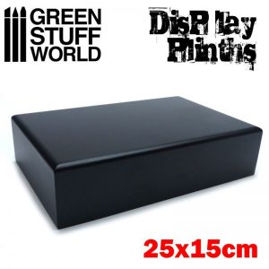 Green Stuff World   Display Plinths Rectangular Plinth 25x15 cm - 8436574501698ES - 8436574501698