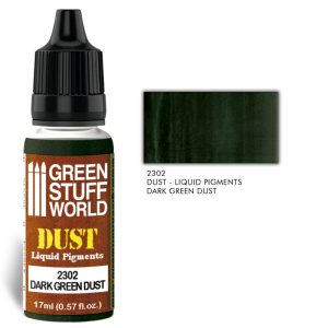 Green Stuff World   Liquid Pigments Liquid Pigments DARK GREEN DUST - 8436574506617ES - 8436574506617