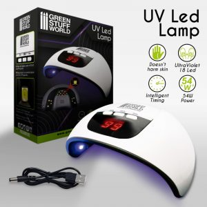 Green Stuff World   Ultraviolet Resin Ultraviolet LED Lamp - 8436574507430ES - 8436574507430
