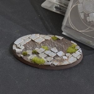 Gamers Grass   Battle-ready Temple Bases Temple Bases Oval 105mm (x1) - GGB-TO105 -