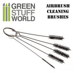 Green Stuff World   Airbrushes & Accessories Airbrush Cleaning BRUSHES set - 8436554364091ES - 8436554364091