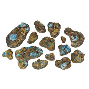Micro Art Studio   Mystic Bases Mystic - Basing Kit (14) - B00701 - 5907652560911
