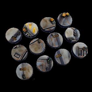 Micro Art Studio   Terminus Bases Terminus Bases, Round 25mm (5) - B05021 - 5900232353613