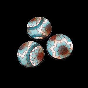 Micro Art Studio   Mosaic Bases Mosaic Bases, Round 50mm (2) - B01130 - 5900232353521