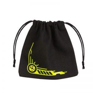 Q-Workshop   Q-Workshop Dice Galactic Black & yellow Dice Bag - BGAL45 - 5907699493463