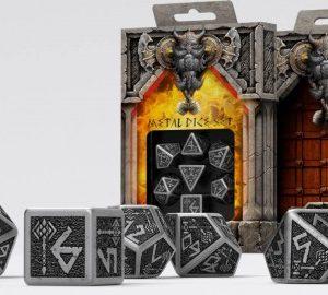 Q-Workshop   Dwarven Metal Dwarven Dice Set (7) - SMDW35 - 5907699491896