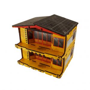 Micro Art Studio   Micro Art Studios Terrain Kokkyo 3 - Market PREPAINTED (Yellow) - H00090-Yellow - 5907652560898Y