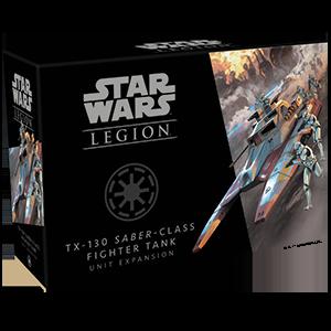 Fantasy Flight Games Star Wars: Legion  The Galactic Republic - Legion Star Wars Legion: TX-130 Saber-class Fighter Tank - FFGSWL63 - 841333110055