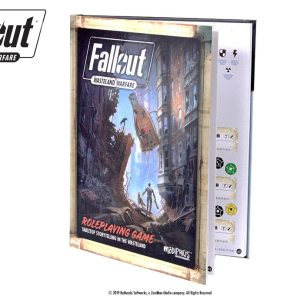 Modiphius Fallout: Wasteland Warfare RPG  Fallout: Wasteland Warfare RPG Fallout: Wasteland Warfare RPG Core Rulebook - MUH051778 - 9781912743278