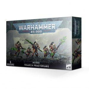 Games Workshop Warhammer 40,000  Necrons Necron Triarch Praetorians / Lychguard - 99120110058 - 5011921139132