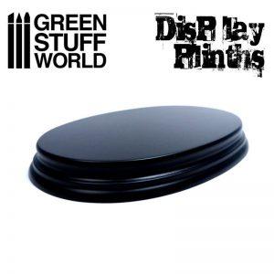 Green Stuff World   Display Plinths Oval Display Plinth 17x11 cm - 8436574501667ES - 8436574501667