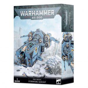 Games Workshop Warhammer 40,000  Space Wolves Stormwolf / Stormfang Gunship - 99120101346 - 5011921149155