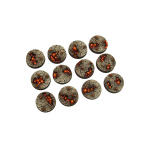Micro Art Studio   Chaos Waste Bases Chaos Waste Bases, Round 25mm (5) - B03621 - 5900232357550
