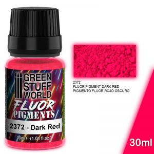 Green Stuff World   Fluorescent Pigments Pigment FLUOR DARK RED - 8436574507300ES - 8436574507300