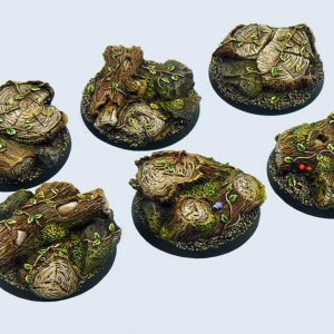 Micro Art Studio   Forest Bases Forest Bases, Round 40mm (2) - B00522 - 5900232355396
